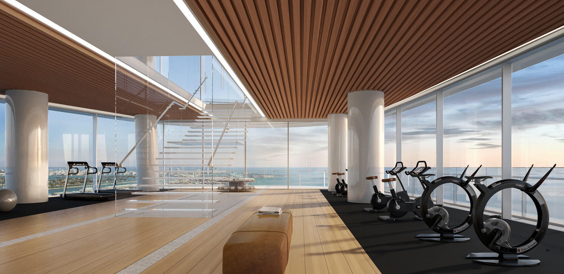 Gym from main entrance