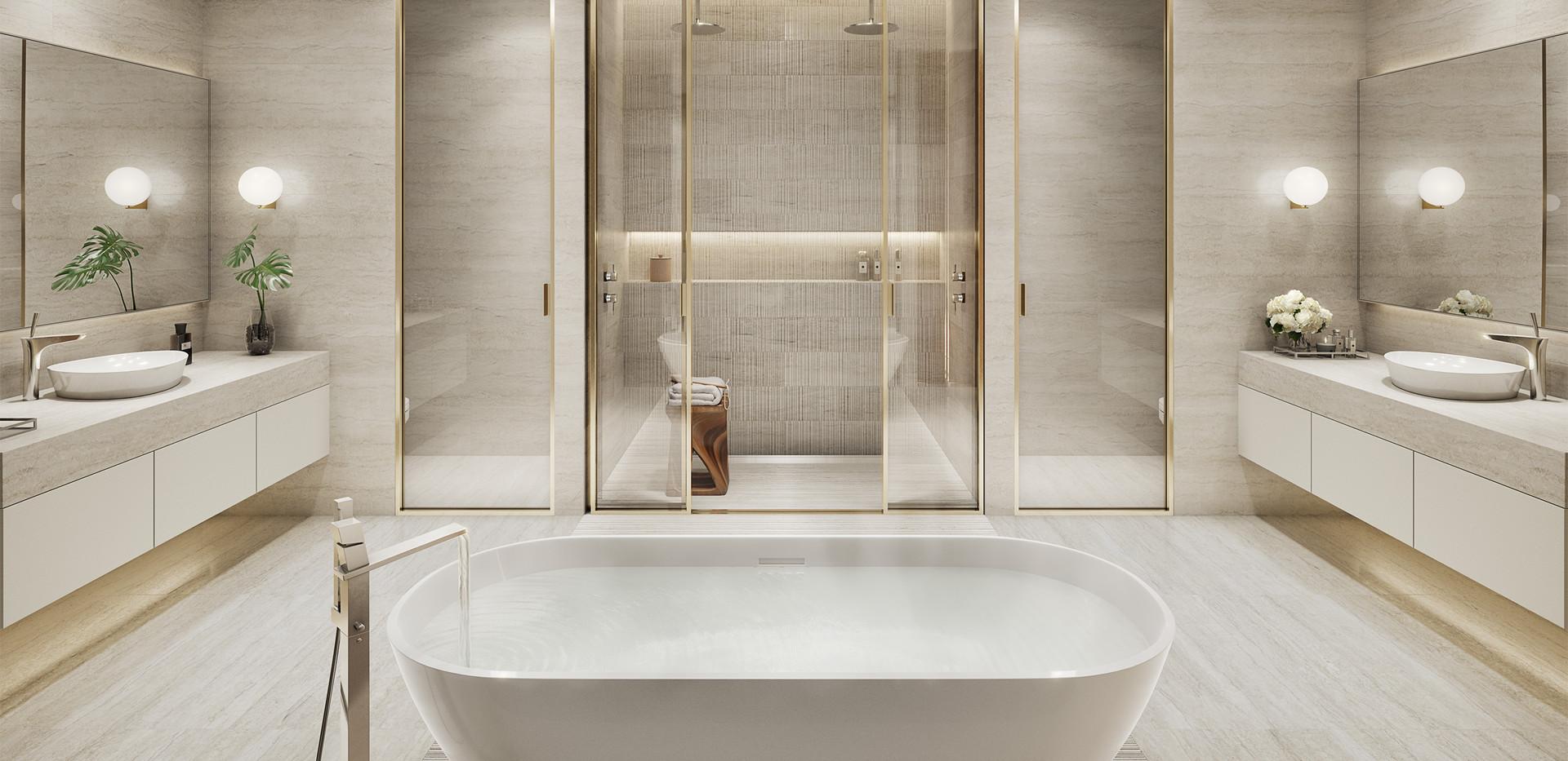 57 Ocean Master Bath