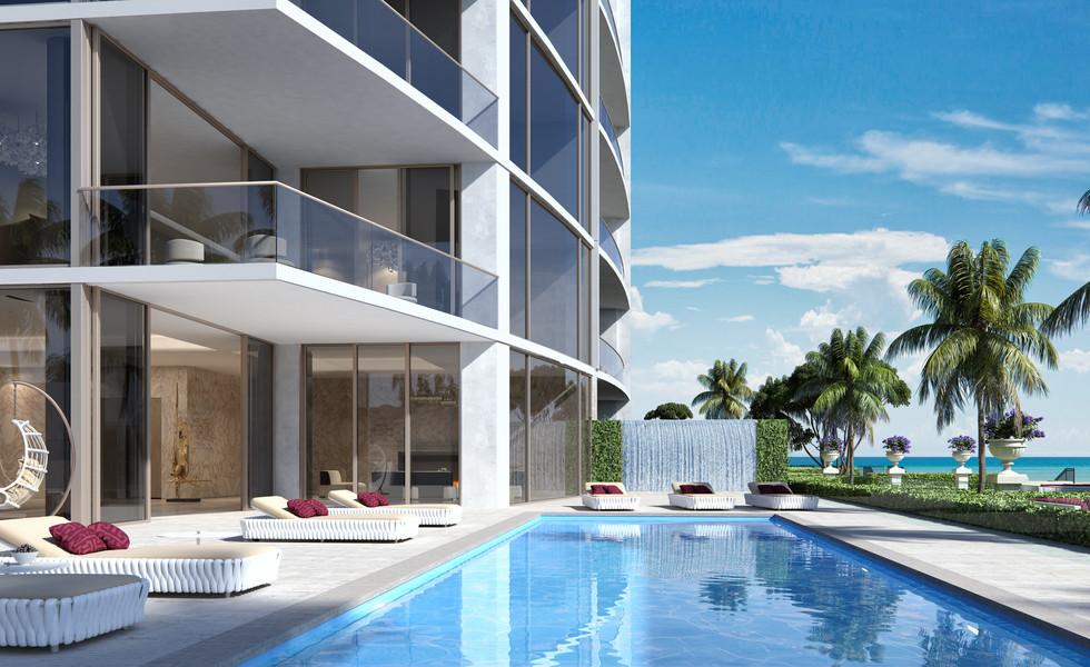 Casa D' Oro Pool terrace