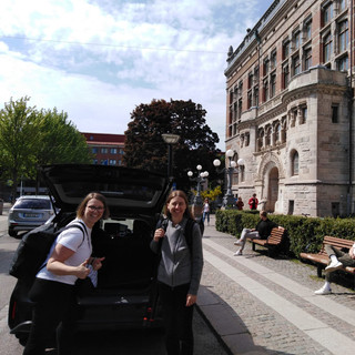 Ankunft Universität Göteborg