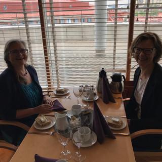 Mittagessen in der Universität Göteborg