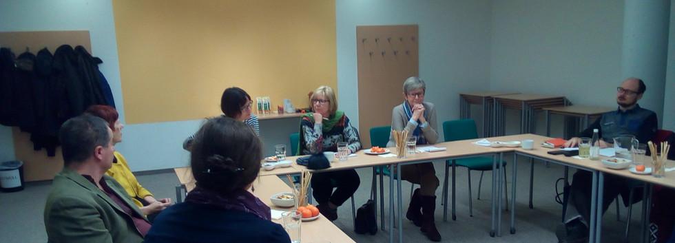 Diskussion der Teilnehmer*innen