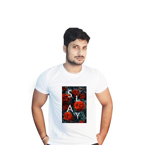 Slay Graphic T shirt white