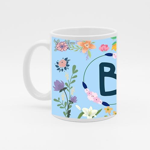 B Alphabet Coffee Mug