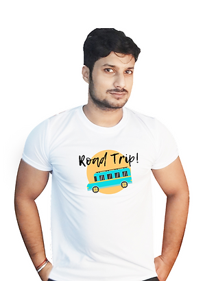 Road Trip Graphic T shirt