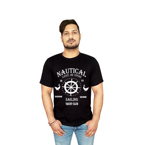 Nautical Graphic T shirt white