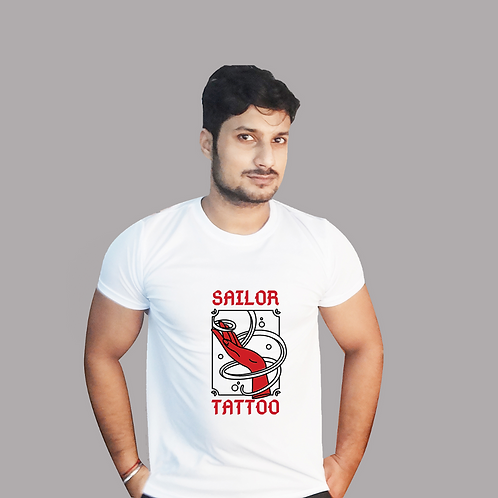 Sailor Tattoo Graphic T shirt