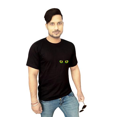 Green Eyes Graphic T shirt white