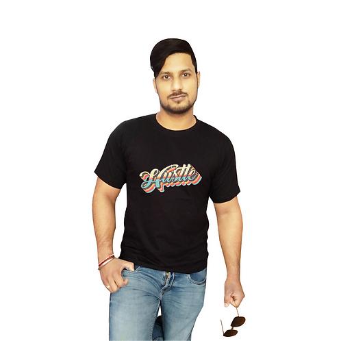 Hustle Graphic  T Shirt