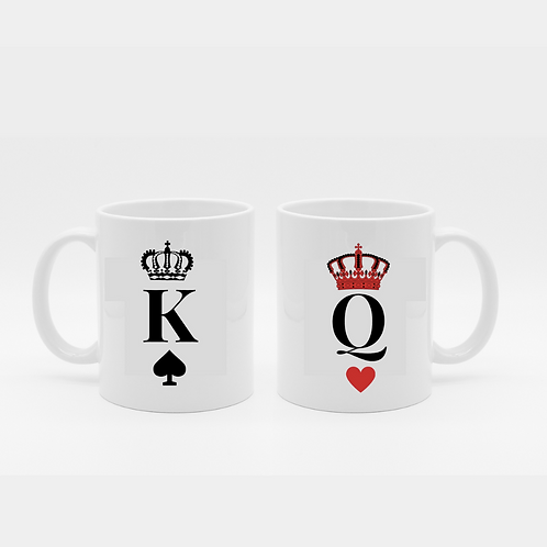 King Queen Mug