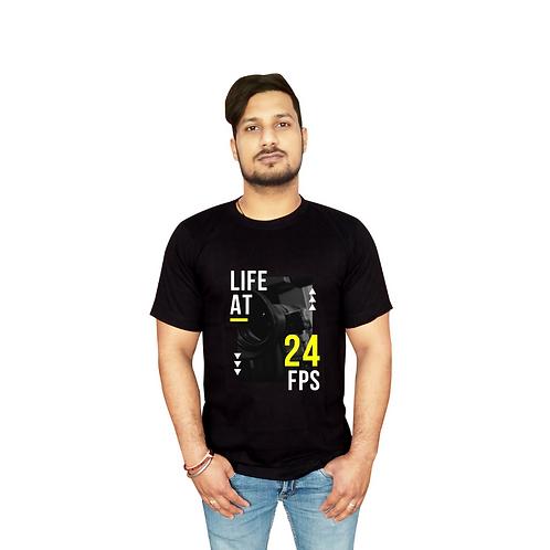 Life at 24 FPS Graphic T shirt