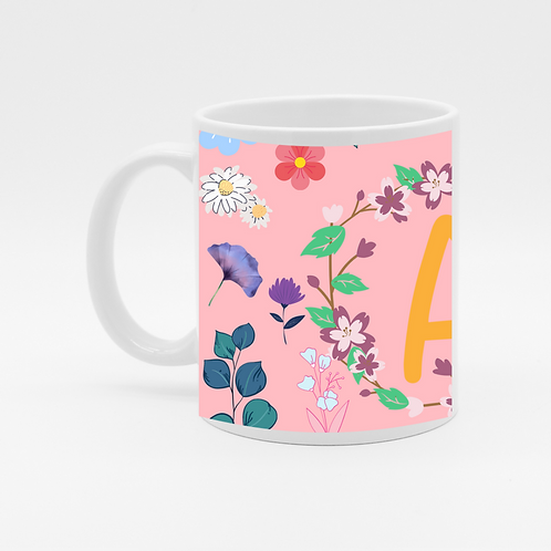 A Alphabet Coffee Mug