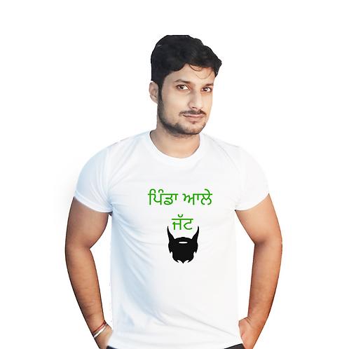 Pinda aale Jatt Graphic T shirt