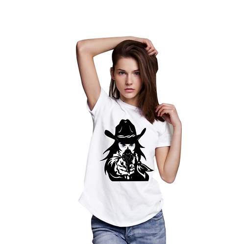 Cowgirl Graphic T shirt