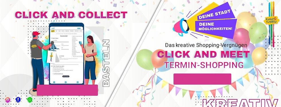 Titel Banner Homepage Click & Meet und C