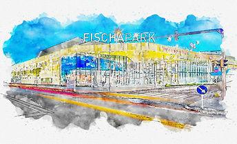 Wr. Neustadt Fischerpark - Aquarelle.jpe