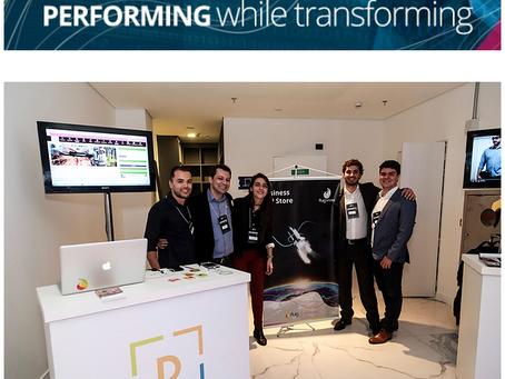 Digte no #eventoFLUIG Performing while transforming