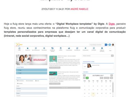 "Lançamento fluig store: ""Digital workplace templates"" by DIGTE"
