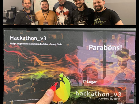Ganhamos Hackathon_v3 Fluig!