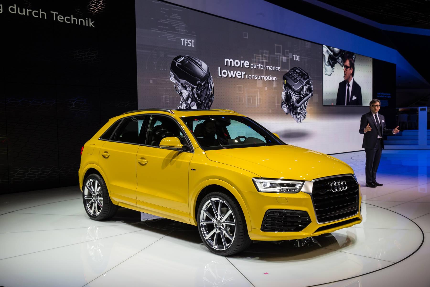 Audi press/auto show