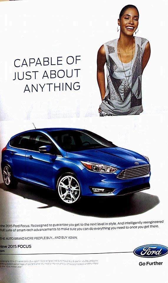 Ford Focus-Ebony Magazine