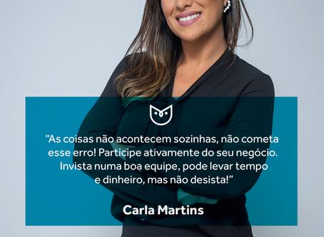 #CorujasCriativas, especial mês das mulheres - 9: Carla