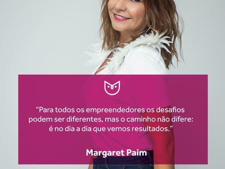 #CorujasCriativas, especial mês das mulheres - 8: Margaret Paim