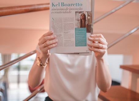 Kel Boaretto: sinônimo de inovação e criatividade (Revista DUO)
