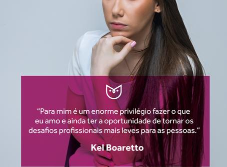 #CorujasCriativas, especial mês das mulheres - 10: Kel Boaretto