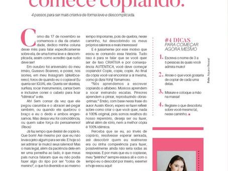 SE FOR COMEÇAR, COMECE COPIANDO