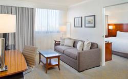 Burbank Marriott rooms