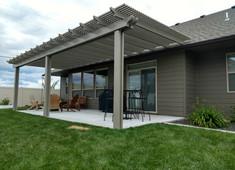 Adobe Pergola (roof mount)