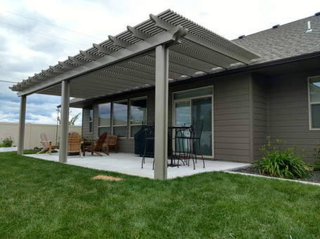Adobe Pergola (roof mount)