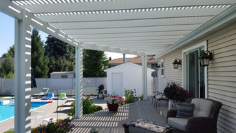 Gorgeous Pergola with double beams