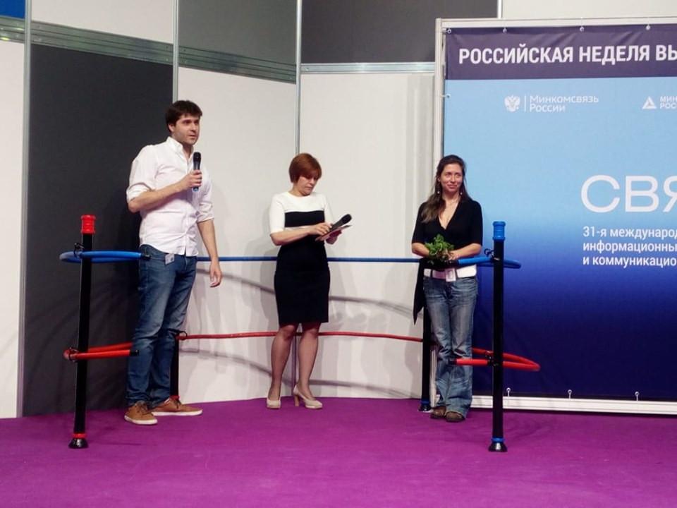 Анна Вититина ситифермерство  Get in the Ring Moscow