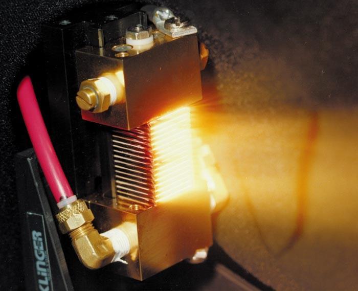 Laser diode bar stack (Klinger)