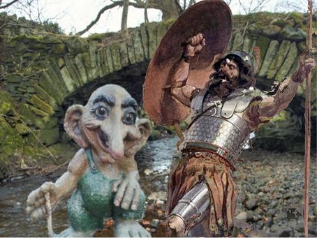 Goliath vs. Troll, round 2