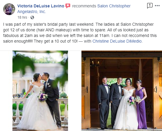 Review by the Maid of Honor