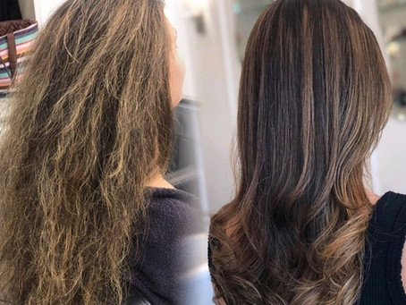 WANT A FRIZZ-FREE SUMMER?