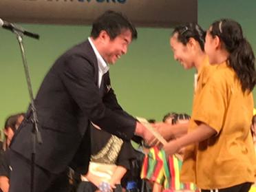 全日本小中学生ダンスコンクール東日本大会金賞受賞