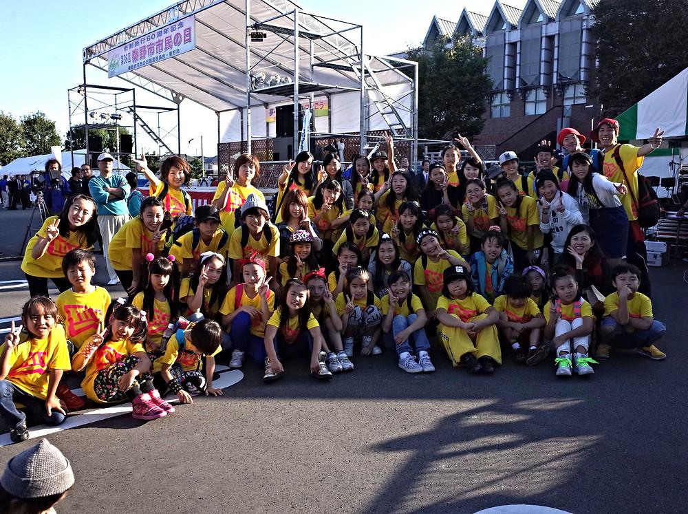 MK☆ダンス市民の日ステージ