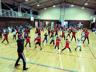秦野市末広小学校ダンス講座「えがおのたね2017」