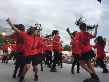 MK☆ダンスたばこ祭に出演