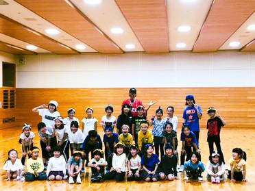 秦野市スポーツ協会キッズダンス教室素晴らしかった