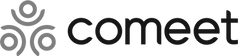 The logo of comeet a provider of applicant tracking software
