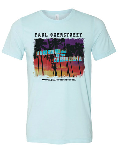 Somewhere in the Caribbean T-shirt with a FREE CD
