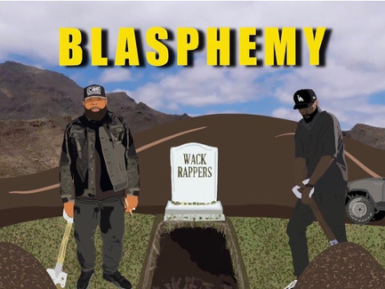 """Locksmith featuring KXNG Crooked - """"Blasphemy"""" (Prod. by D.R.U.G.S. Beats)/""""Hold On"""" (Music Videos)"""