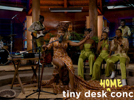 Sampa The Great - Tiny Desk (Home) Concert