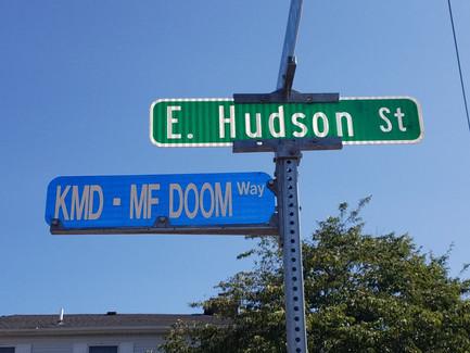 KMD - MF Doom Way Street Name (Event/Ceremony)/MF Doom Tribute Murals Worldwide