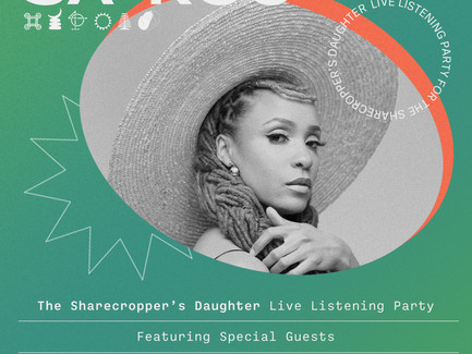 "Sa-Roc's Live Listening Party For Her Upcoming Album ""The Sharecropper's Daughter"" (October 2, 2020)"
